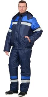 Костюм «ОРБИТА» (синий с васильковым)