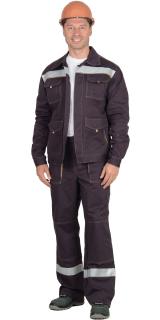 Костюм «СИРИУС-ТРОЯ» куртка, брюки 100% Х/Б