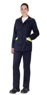 Костюм «СИРИУС-ЗОЛУШКА» куртка, брюки т. синий